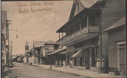 Honduras.San Pedro Sula .Calle Del Comercio - Honduras