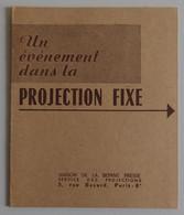 LA BIBLE EN IMAGES En 24 Films Dépliant Publicitaire 1955 Maison De La Bonne Presse Projection Vues 18x24 PARFAIT ETAT - Altri