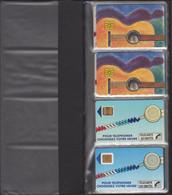 TELECARTES PETIT CLASSEUR CONTENANT 18 TELECARTES DONT UNE DE MONACO (Neuve 120 Unités). Voir Scans. - Colecciones