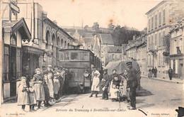 BRETTEVILLE SUR LAIZE - Arrivée Du Tramway - Andere Gemeenten