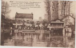 Olivet  45  Bords Du Loiret-Vue Generale De La Closerie Des Lilas-Café-Restaurant (BOISGARD Terrasse Tres Animée - Otros Municipios