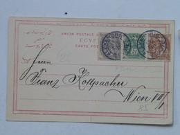 Egypt 85 Alexandria Alexandrie Postes 1c 4c 5c 1907 Rue Gare Du Caire 81 Made For Pierre Aropian - Lettres & Documents