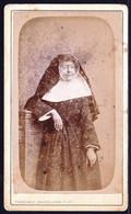 PHOTO CDV RELIGIEUSE - SOEUR - Photo Brackelaire Tournai - Old (before 1900)