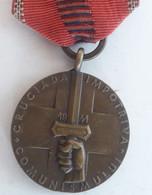 Médaille BULGARIE 1941 ROMANIA Croisade Contre Les Communistes - Autres Pays
