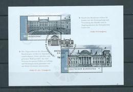 2009 West-Germany Complete Block/MSheet Bundesrat/Bundestag GPO - Blokken