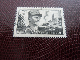 LECLERC De HAUTECLOCQUE (1902-1947) Général - 6f. - Noir - Oblitéré - Année 1948 - - Gebruikt
