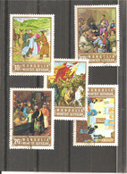 Used Stamps Nr.768-772 In MICHEL Catalog - Mongolia