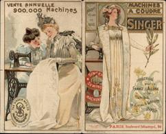 PUBLICITE - Machines à Coudre SINGER - - Advertising