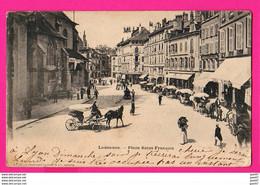 CPA  (Réf: Z 2397)  LAUSANNE (SUISSE) Place St-François (calèche, Animée) - VD Vaud
