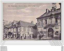 """Cpa  Z0.260 (  Dép 29  )    à    ROSPORDEN   """"""""   Place De La Mairie --  L' Hôtel De Ville  """" - Andere Gemeenten"""