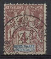 Diégo-Suarez (1892) N 27 (o) - Used Stamps