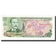 Billet, Costa Rica, 5 Colones, 1989, 1989-10-04, KM:236d, SPL - Costa Rica