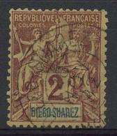 Diégo-Suarez (1893) N 39 (o) - Used Stamps