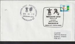Canada Cover 2010 Vancouver Olympic Games - Ice Hockey (G127-7) - Winter 2010: Vancouver