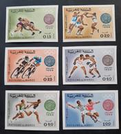Maroc - Morocco - 1968 JO MEXICO - Série Complète Non Dentelés - Neufs** - TTB - Marokko (1956-...)