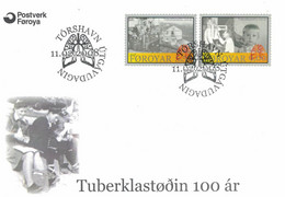 Färöer-Inseln TBC Tuberkulose 2008 - Lunge - Medicina