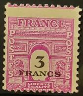 France 1945 N°711 Piquage à Cheval ** TB - Ungebraucht