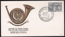 Belgium 1958 / Day Of The Post Museum / FDC - 1951-60
