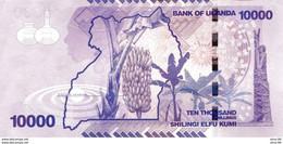 Uganda P.52c 10000 Shillings 2013   Unc - Uganda