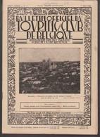 TOURING CLUB DE BELGIQUE.  N°9 - 1 Mai 1929.  Bruxelles-Panorama De L'église SS Michel Et Gudule / Bohan Sur Semois. - 1900 - 1949