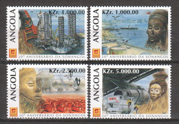 Angola 1996 Mi 1089-1092 MNH - Angola