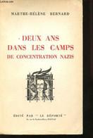 Deux Ans Dans Les Camps De Concentration Nazis. Les Droits De L'Homme. D'après Le Récit De Georges Wierzbicki, Ancien Dé - Weltkrieg 1939-45