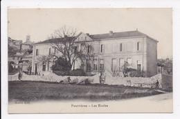 CP 83 POURRIERES Les écoles - Other Municipalities