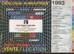 Catalogue 1993 Bureautique Ets Henri Sécula. - Collectif - 1993 - Agende & Calendari