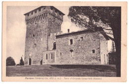 1941 PACIANO    PERUGIA - Perugia