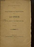La Grèce Et Les Jeux Olympiques - M. N. De Neufville - 0 - Sport