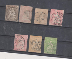 SWITZERLAND Nice Lot Stamps Used - Usati