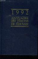 Annuaire Des Témoins De Jéhovah 1992 - Collectif - 1992 - Annuaires Téléphoniques
