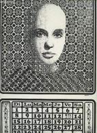 "Calendrier N°11 De La Revue ""Loubot"" - Debon Jean-Claude, Lamontellerie Paul - 1977 - Agende & Calendari"