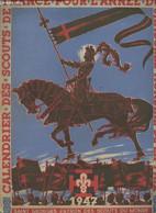 Calendrier Des Scouts De France Pour L'année Du Jamborée Mondial De La Paix 1947 - Collectif - 1947 - Agende & Calendari