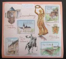 France 2003 BF 64 Feuillet Capitales Européennes Luxembourg Neuf - Ongebruikt