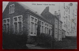 CPA 1912 Yvoir - Spontin - Ecole Des Filles - Yvoir