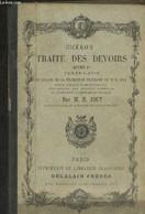 Traité Des Devoirs Livre Ier : Texte Latin En Regard De La Traduction Française. - Cicéron, Joly M.H. - 0 - Cultural