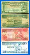 éthiopie  4  Billets  Dans  L'etat - Ethiopia