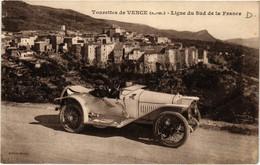 CPA AK VENCE - Tourettes De VENCE - Ligne Du Sud De La France (639691) - Vence