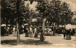 CPA AK VILLEFRANCHE-sur-SAONE - Place De La Sous-Prefecture (635824) - Villefranche-sur-Saone