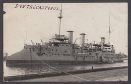 117581/ Croiseur à Barbette *D'Entrecasteaux* - Guerre
