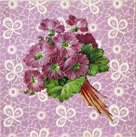 Grande Image Début XXe S. -  Bouquet De Fleurs  * - Zonder Classificatie