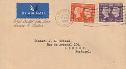 1940-CARTA- LONDRES A LISBOA. Llegada - Lettres & Documents