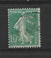 FRANCE   N° 188B  OBLITERE - 1906-38 Sower - Cameo