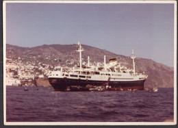 Photo Originale - Postale - Argentina - Circa 1960 - Navire à Passagers - A1RR2 - Boten