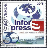 Cape Verde 2018 - Mi 1051 - YT Xxx ( 30th Anniversary Of InforPress, National Press Agency ) - Kap Verde
