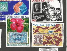 92/95100éme Anniversaire    Beaux Cachets     De MATA UTU       (clasfdcroug) - Used Stamps