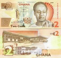 Ghana 2010 - 2 Cedis - Pick 37Aa UNC Commemorative - Ghana