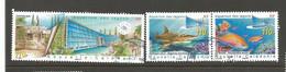 1019 Et1022/23  Aquarium De Nouméa    (874) - Used Stamps
