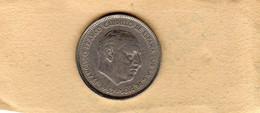 Monnaies D'Espagne  25 Pesetas 1957 (64) Cupronickel TTB - - 25 Pesetas